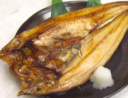 Grilled-Atka-mackrel大縞ほっけ一夜干し炙り