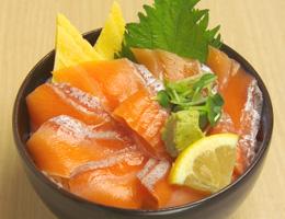 Toro-Salmon-Donburiトロサーモン丼