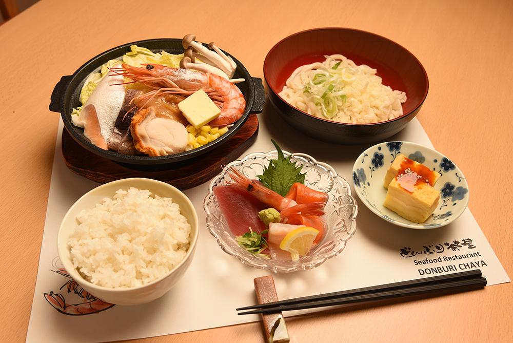 Seafood hot pot combo B