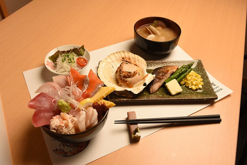 Seafood rice bowl Combo