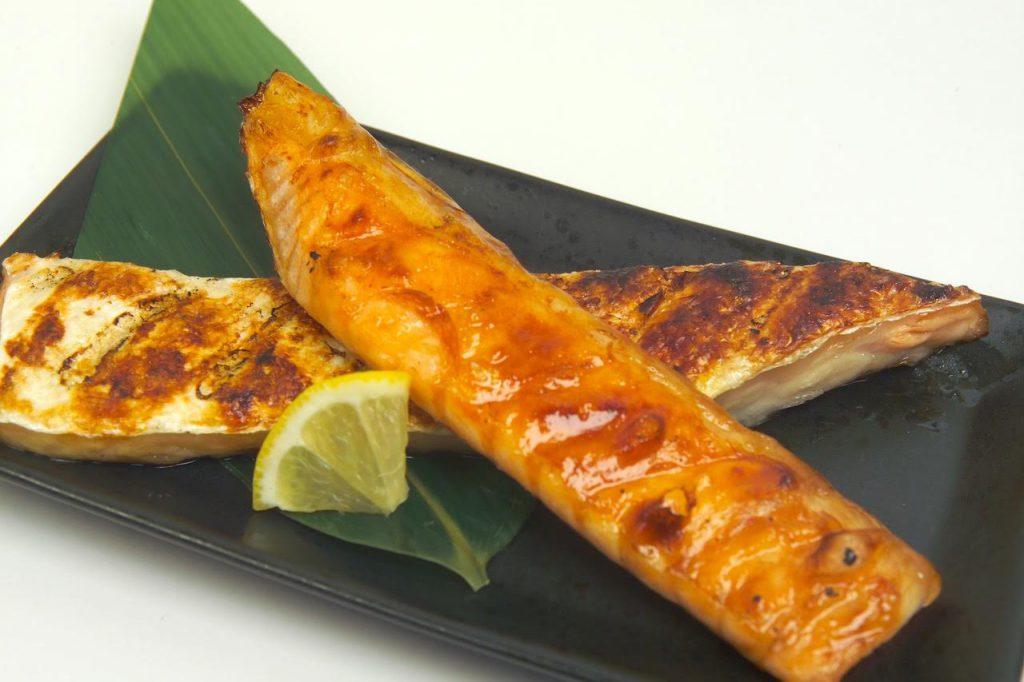 サーモンハラス炙り焼き