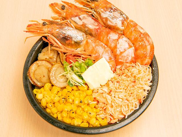 海鮮ミックスステーキ丼A