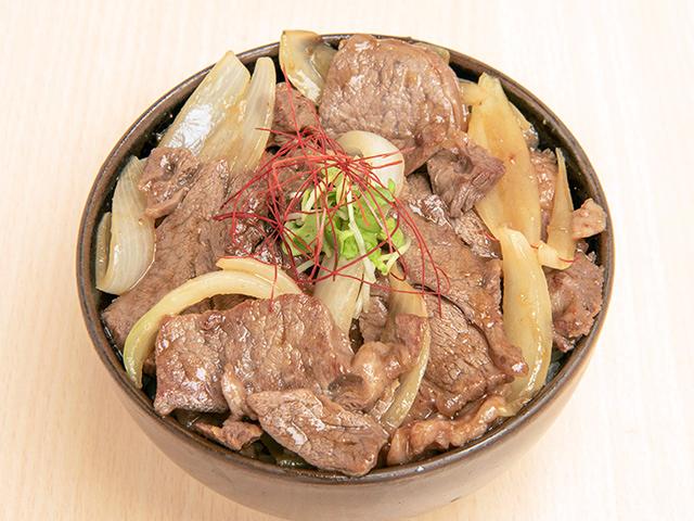 生ラムジンギスカン丼