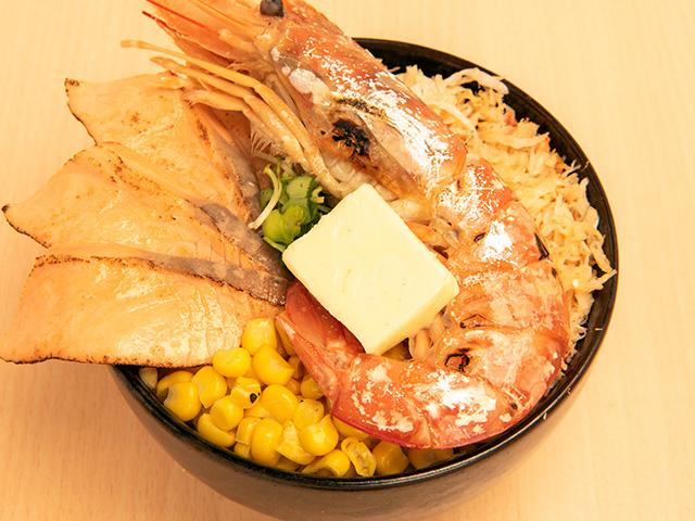 海鮮ミックスステーキ丼B